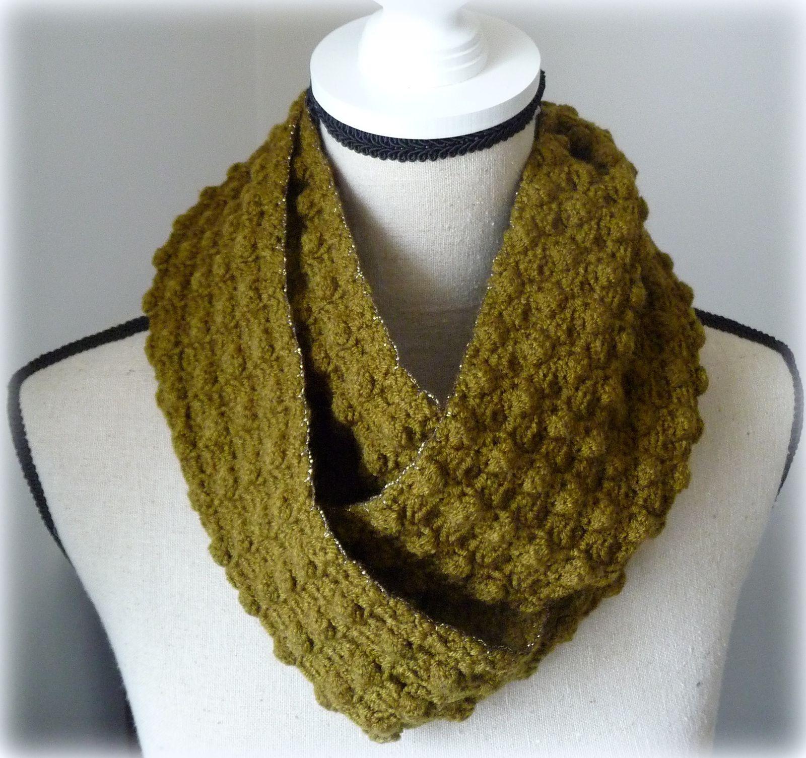 Snood Au Crochet Aurelle