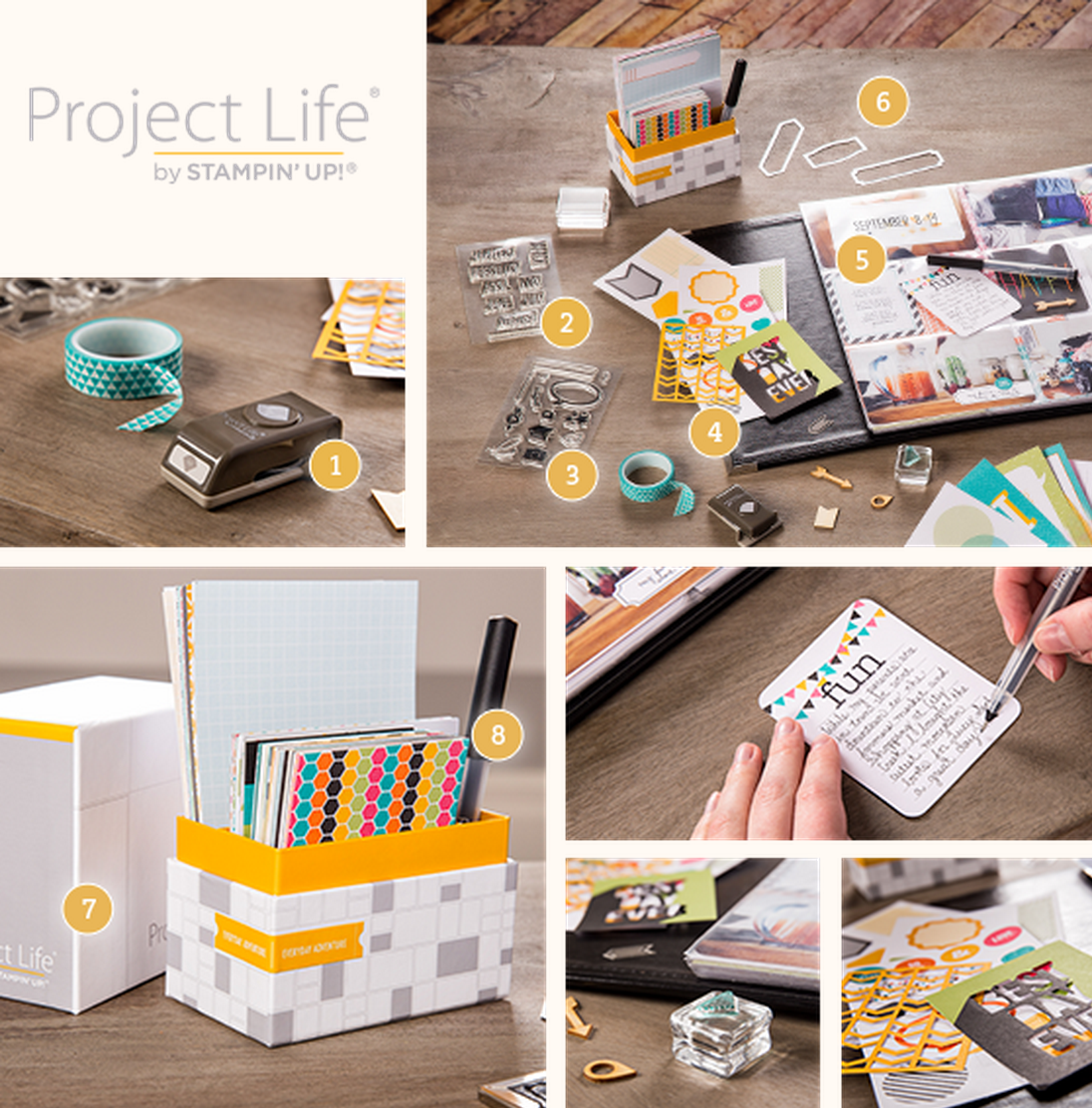 Le Project Life Stampin'Up! est là!