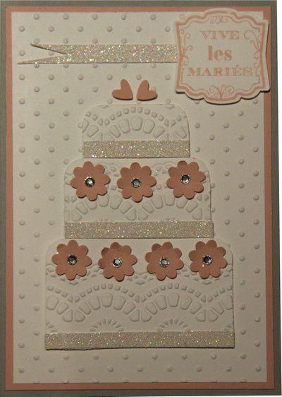 Une carte pour de jeunes mariés