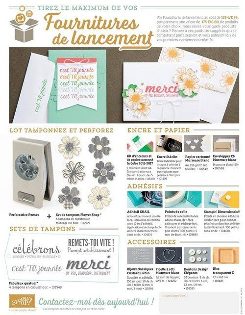 Stampin'Up! m'a gâté...