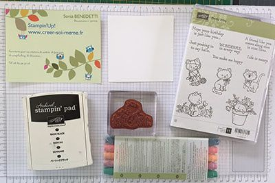 Techniques 101 Blog Hop – Stamp  in black and color