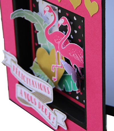 Pop of paradise, le flamand Rose par Stampin'Up!