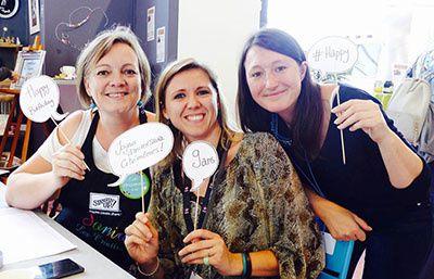 Créativa Rouen 2017 - Coin des blogeuses