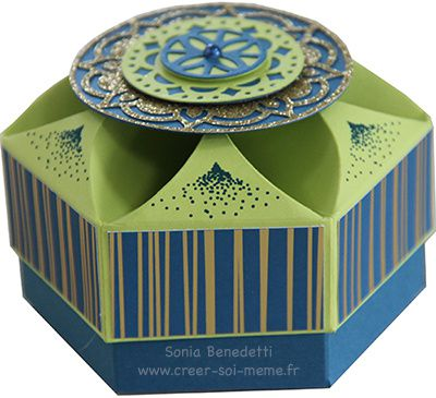 Comment confectionner une jolie boîte avec un couvercle wahou?