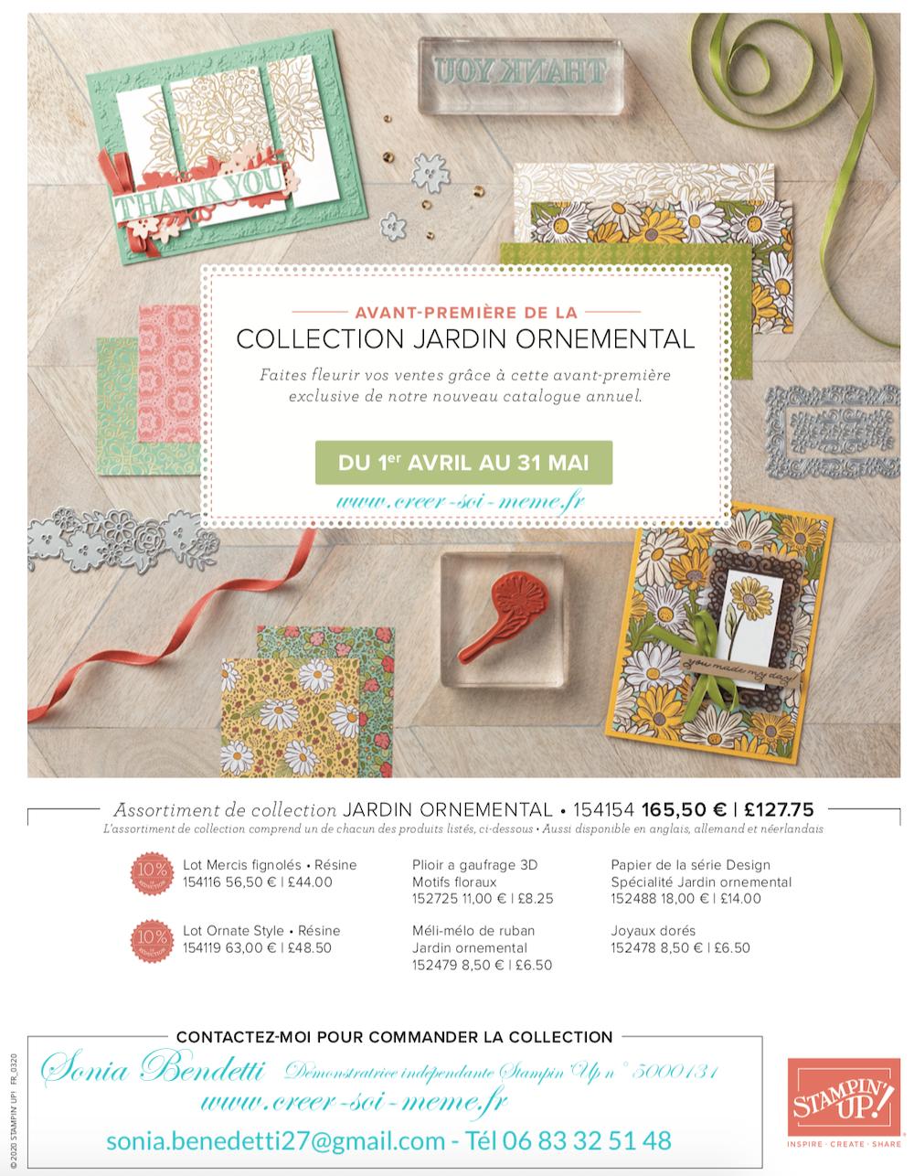 Avant première: Collection Jardin ornemental