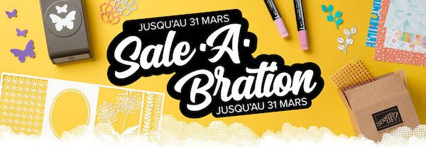promotion sale a bration stampin up se termine le 31 mars