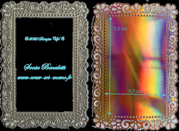 Poinçons Cadres décoratifs Réf 152726 à 45,00 €