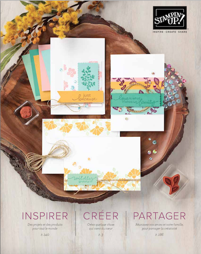 catalogue stampin up 2020 2021 démonstratrice Stampin'Up! en France Normandie et région parisienne scrap scrapbooking carterie loisirs creatifs