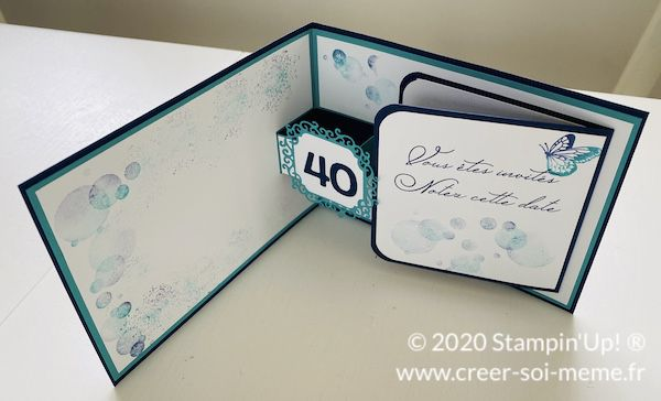 Carte pop up pour anniversaire