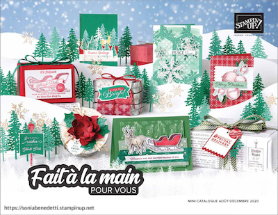 catalogue stampin up aout décembre 2020 sonia démonstratrice Stampin'Up! n° 5000131 en France Europe