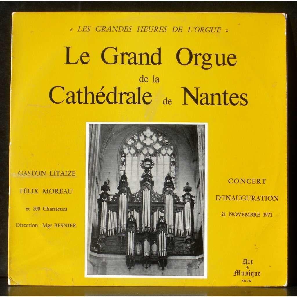 félix moreau, petit fils et fils d'organistes il nous quitte à 96 ans après avoir été titulaire du grand orgue de la cathédrale de Nantes de 1954 à 2012