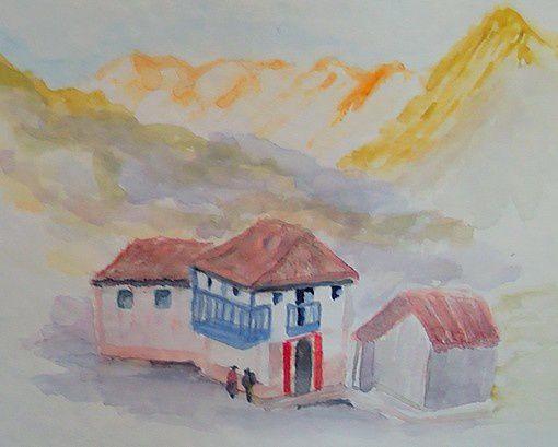 Epicerie du petit village d'Andahuylillas par Daniela