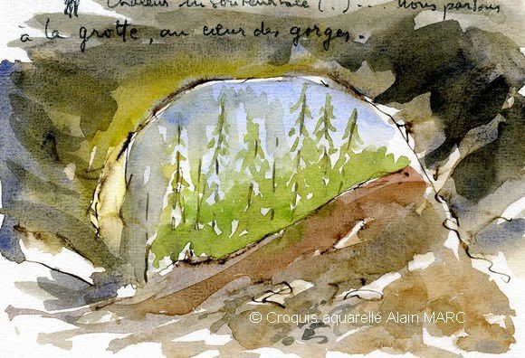 - What prospects between creating watercolor and watercolor action ?