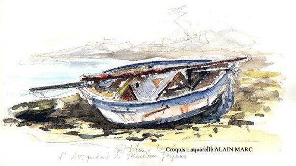 Un motif comme tant d'autres, dans le petit port de Loguivy-de-la-mer