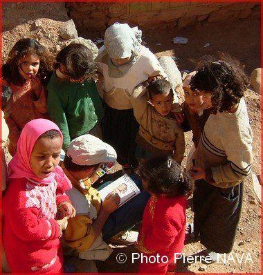 Succès garanti auprès des enfants surtout, lors de nos explorations du Maroc !
