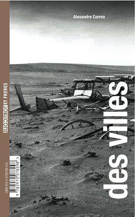 "Verso : ""Des villes"" d'Alexandre Correa"