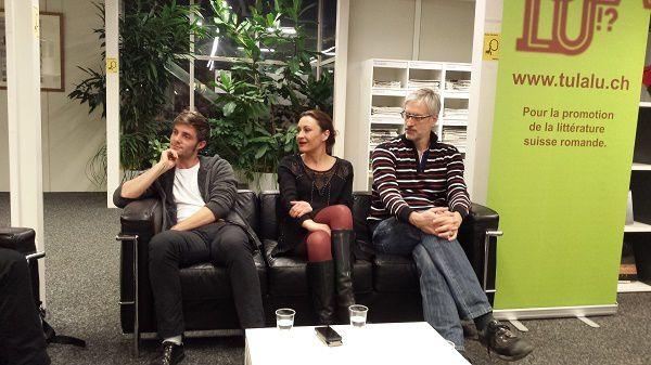 Sébastien Meier, Marie-Christine Horn et Olivier Chapuis