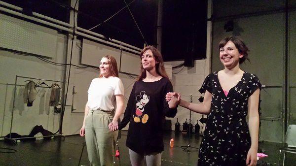 Claire Nicolas, Laetitia Barras et Carole Epiney