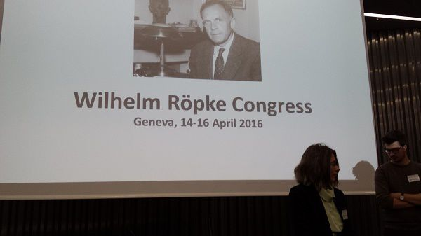 Colloque Wilhelm Röpke, du 14 au 16 avril 2016, au Graduate Institute Geneva