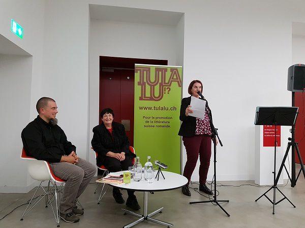 Pierre Fankhauser, Gilberte Favre et Sylvie Blondel