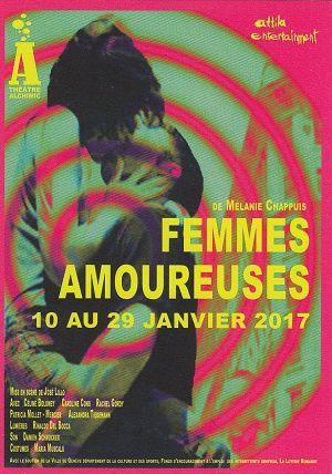 Femmes amoureuses, de Mélanie Chappuis, au Théâtre Alchimic, à Carouge