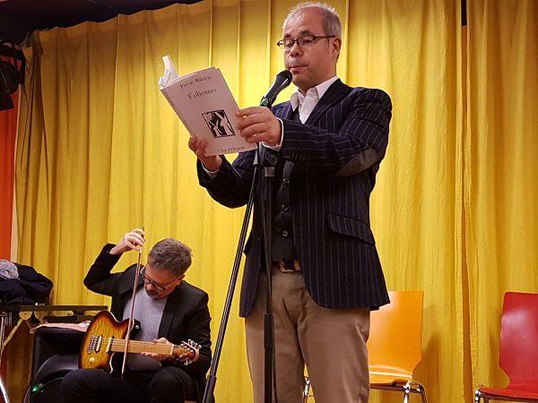Remise du Prix des Écrivains Vaudois à Ferenc Rákóczy, à la Frat, à Lausanne