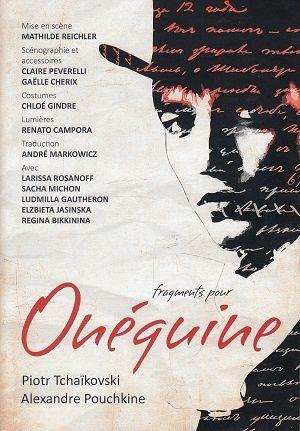 Onéguine, de Pouchkine et Tchaïkovski, au Théâtre de la Madeleine, à Genève