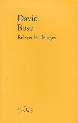 Relever les déluges, de David Bosc