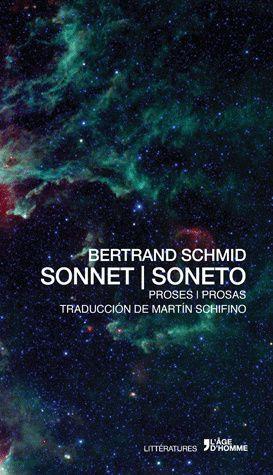 Sonnet / Soneto, de Bertrand Schmid