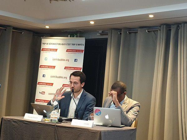 Laurent Pahpy et Ferghane Azihari