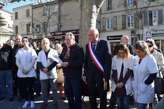 Les habitants ont rendu hommage aux victimes de Tignes