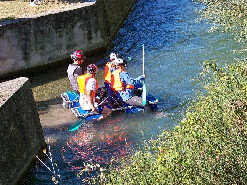 Au fil de l'eau sur le canal