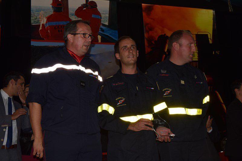 Les pompiers du département à l'honneur