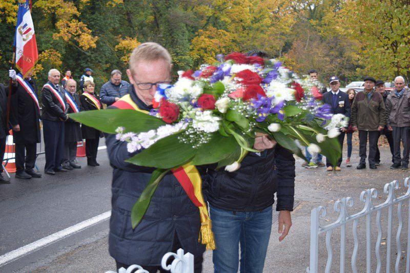 Les Martyrs de l'explosion de la Simone honorés