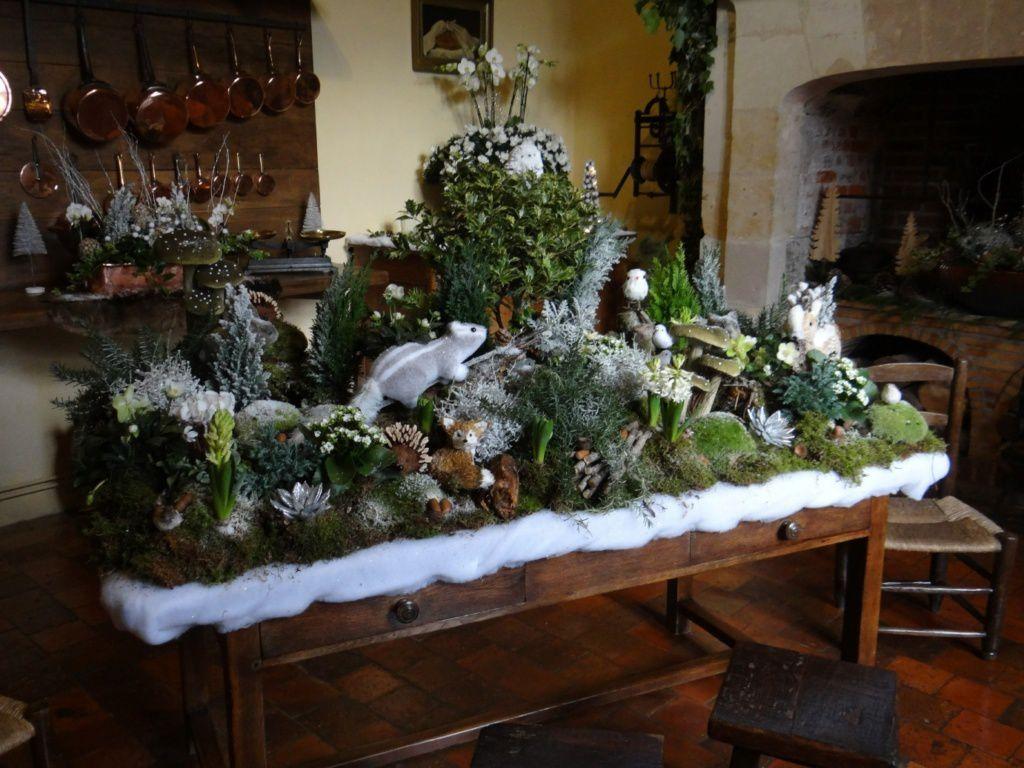 Noël au château de Villandry