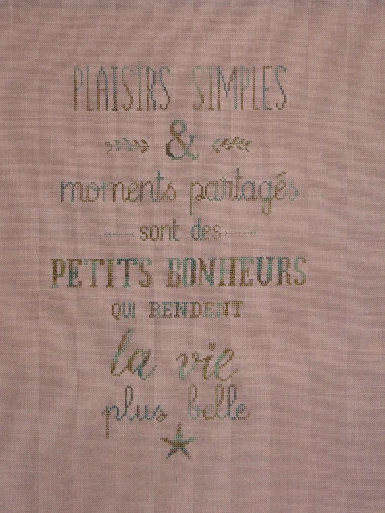 Plaisirs simples