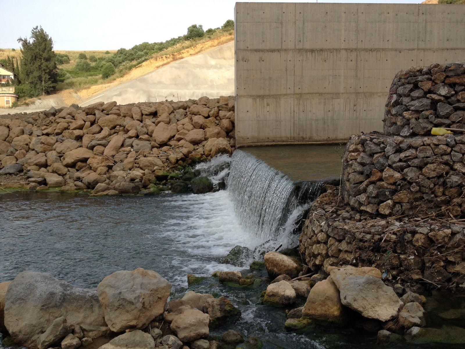 Le barrage hydraulique de Souk n'Tleta