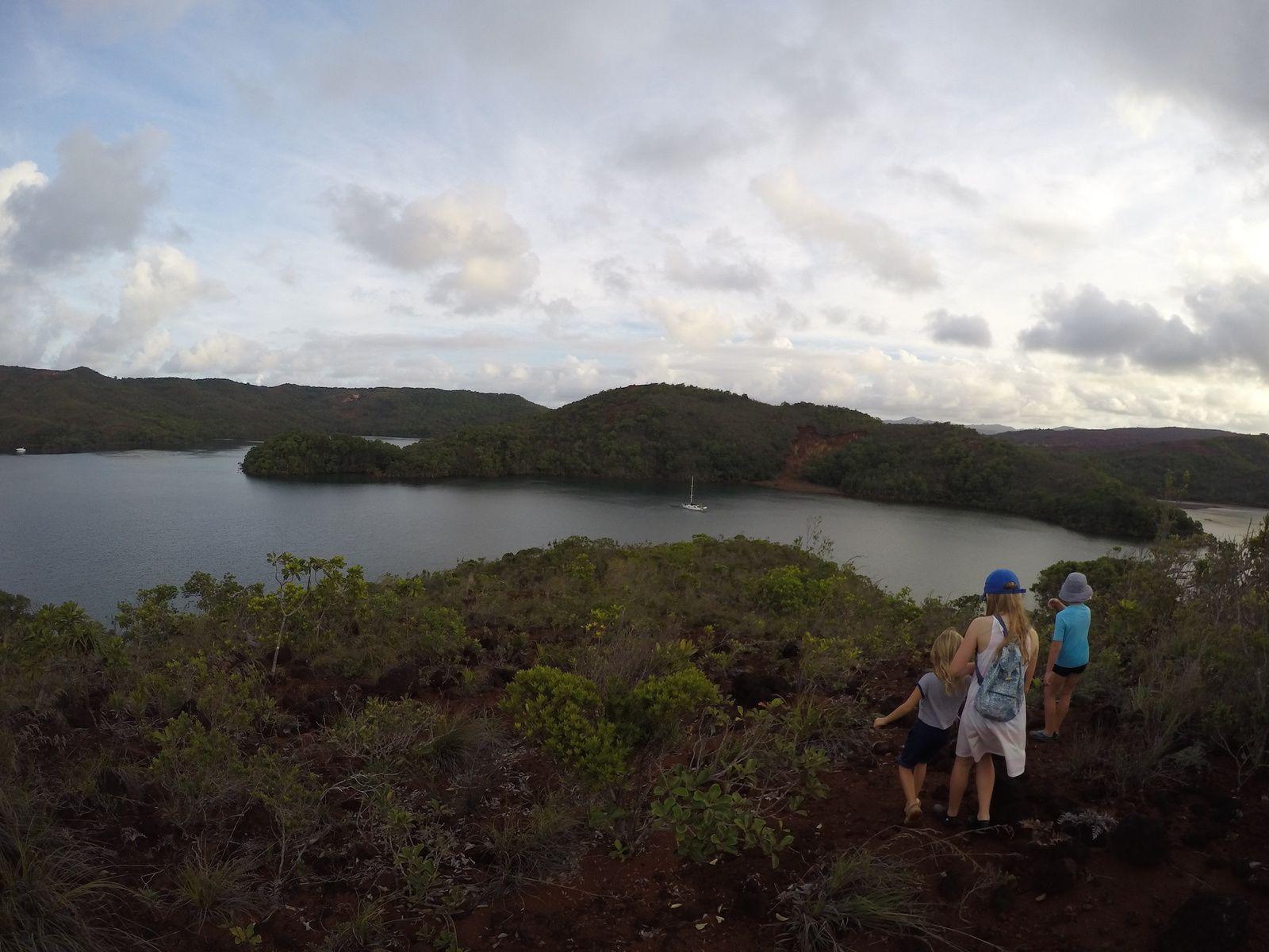 Croisière dans la sud de la Nouvelle Calédonie ~  Baie de Prony et Ile Ouen