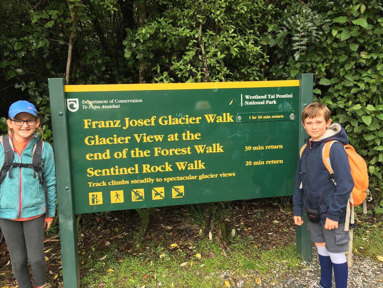 Franz Josef Glacier Walk ~ Randonnée en Nouvelle Zélande