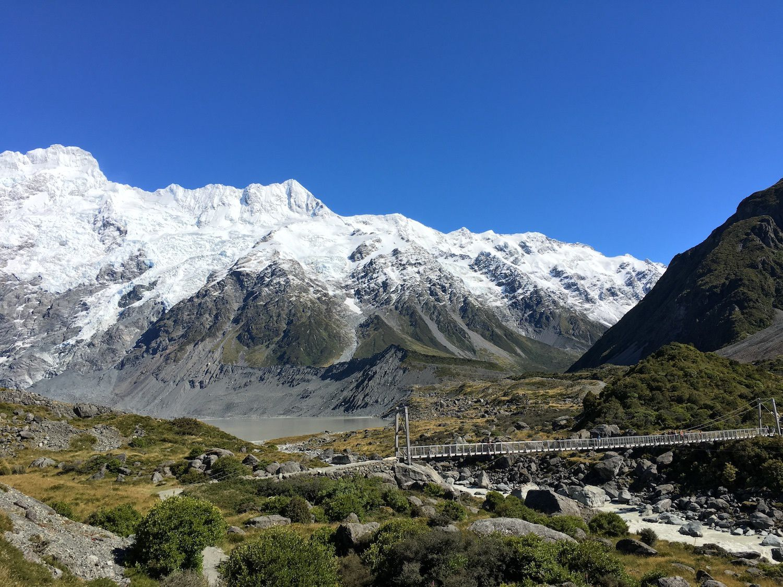 Randonnée sur la Hooker Valley Track ~ Aoraki / Mt Cook ~ Nouvelle Zélande