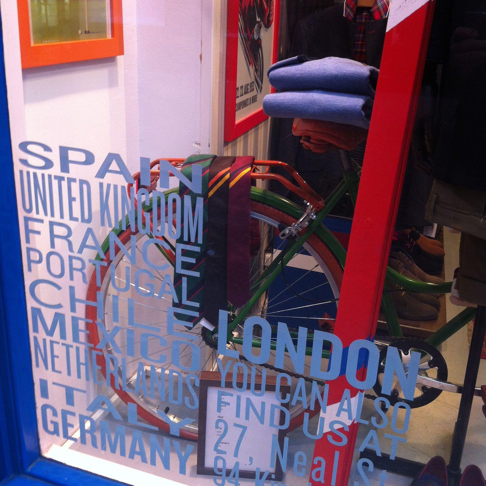 #1 Londres : l'art du shopping multi sensoriel.