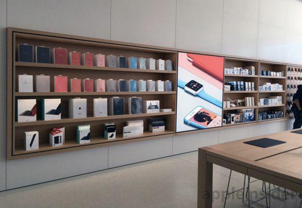 Le nouvel Apple Store: le Genius bar disparaît définitivement.