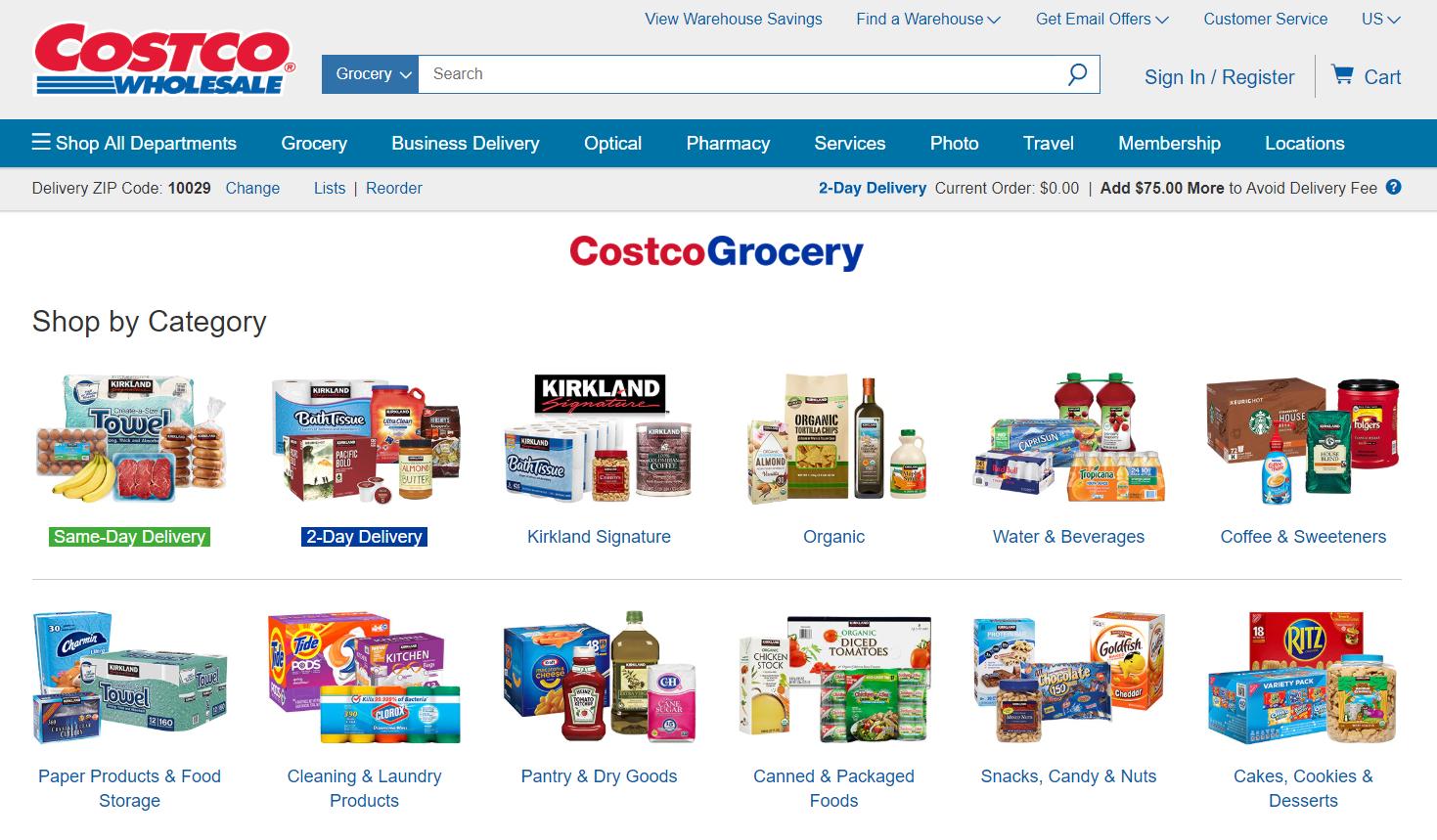 Costco vend sa MDD Kirkland Signature sur Amazon, et l'utilise comme outil de recrutement.