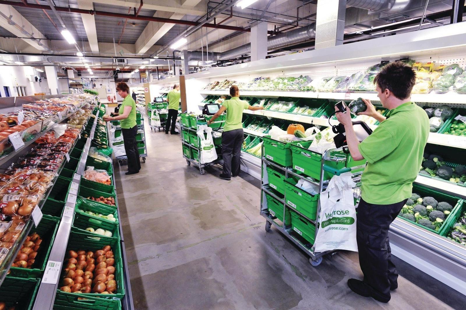 Dossier: Pourquoi les supermarchés US s'équipent-ils de Black stores et de micro-centres de traitement de commandes.