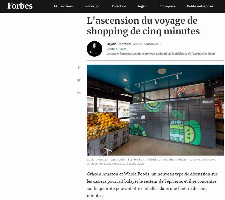 Le Microfulfillment future clé de succès des Supermarchés Amazon et du commerce de proxi.