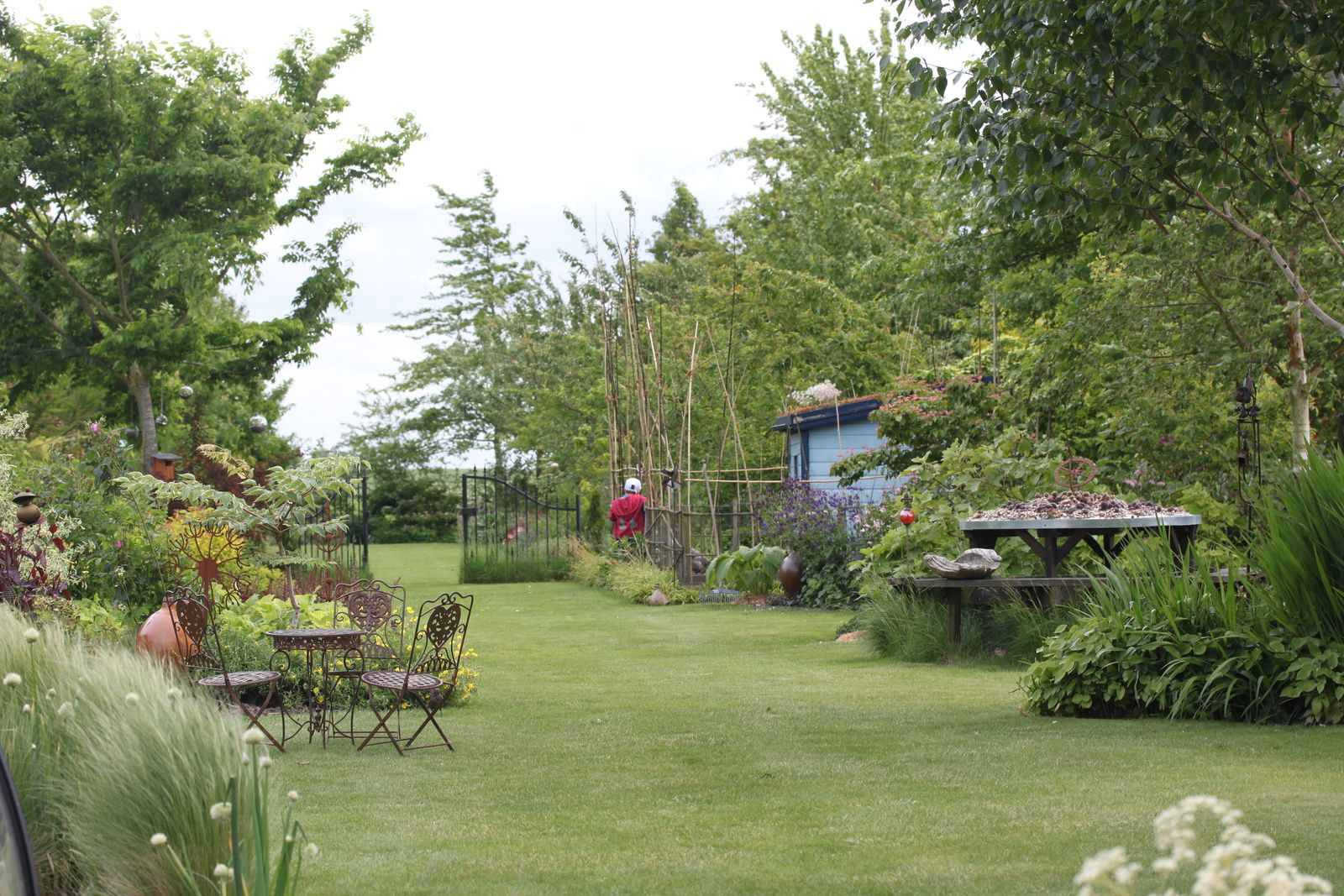 Le jardin de Gérard ... en apesanteur ...