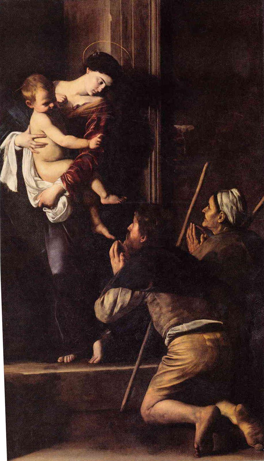 La Madone des pèlerins est un des tableaux les plus célèbres du Caravage et de la peinture Italienne. Pourtant, il a de quoi, dérouter. C'est une « Madone » bien atypique que cette jeune femme en robe rouge…