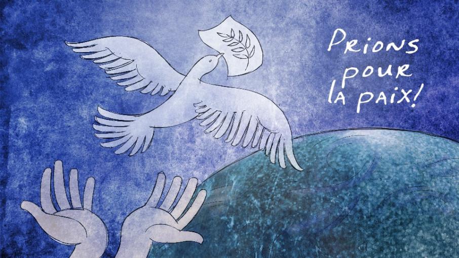 Prière pour la Paix en ce jour d'élection présidentielle