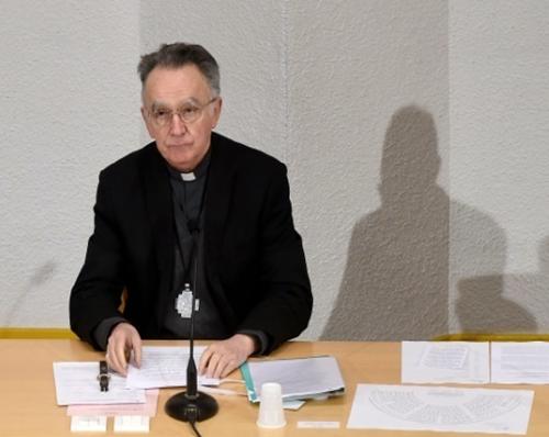 """Mgr Pontier célèbre """"l'esprit de solidarité"""" contre le """"repli sur soi"""" © AFP/Archives / ERIC CABANIS"""