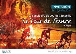 Le Tour de France 2018 au sanctuaire de Lourdes